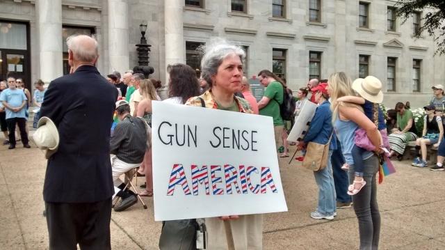 Orlando vigil Gun Sense America